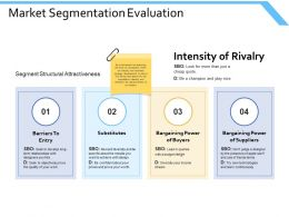 Market Segmentation Evaluation Substitutes Ppt Powerpoint Presentation Professional