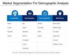 Market Segmentation For Demographic Analysis