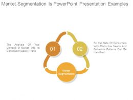 Market Segmentation Is Powerpoint Presentation Examples