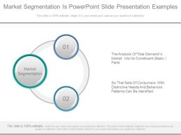 Market Segmentation Is Powerpoint Slide Presentation Examples