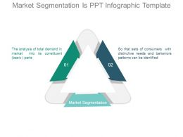 Market Segmentation Is Ppt Infographic Template