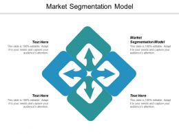 Market Segmentation Model Ppt Powerpoint Presentation Show Mockup Cpb