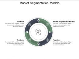 Market Segmentation Models Ppt Powerpoint Presentation Icon Slide Download Cpb