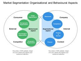 Market Segmentation Organisational And Behavioural Aspects