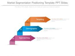 Market Segmentation Positioning Template Ppt Slides