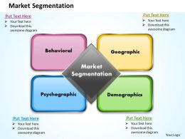 Market Segmentation Powerpoint Presentation Slide Template