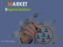 Market Segmentation Powerpoint Presentation Slides