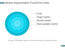 Market Segmentation Powerpoint Slide