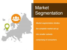 Market Segmentation Powerpoint Slide Designs