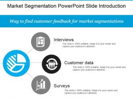 Market Segmentation Powerpoint Slide Introduction