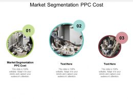 Market Segmentation PPC Cost Ppt Powerpoint Presentation Styles Introduction Cpb