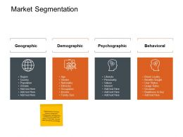 Market Segmentation Ppt Powerpoint Presentation Inspiration Samples