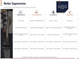 Market Segmentation Ppt Powerpoint Presentation Styles Clipart