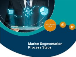 Market Segmentation Process Steps Powerpoint Presentation Slides