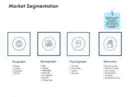 Market Segmentation Psychographic Ppt Powerpoint Presentation Ideas Display