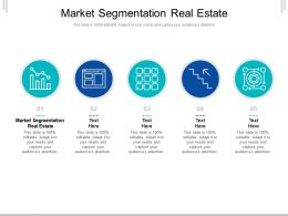 Market Segmentation Real Estate Ppt Powerpoint Presentation Layouts Templates Cpb