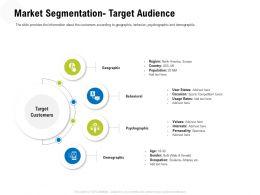 Market Segmentation Target Audience M3327 Ppt Powerpoint Presentation Slides Background Designs