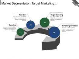 Market Segmentation Target Marketing Marketing Development Process Improvement