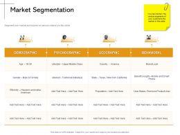 Market Segmentation York California Ppt Powerpoint Presentation Summary Guide