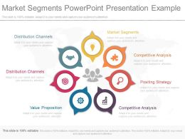 Market Segments Powerpoint Presentation Example