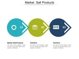 Market Sell Products Ppt Powerpoint Presentation Gallery Graphics Template Cpb