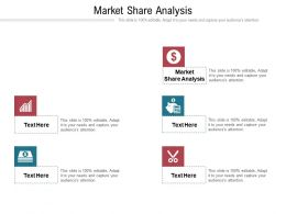 Market Share Analysis Ppt Powerpoint Presentation Ideas Graphic Tips Cpb