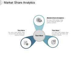 Market Share Analytics Ppt Powerpoint Presentation Portfolio Templates Cpb