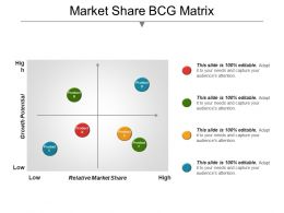 Market Share Bcg Matrix