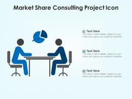 Market Share Consulting Project Icon