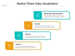 Market Share Data Visualization Ppt Powerpoint Infographics Infographic Template Cpb