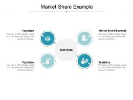 Market Share Example Ppt Powerpoint Presentation Model Visual Aids Cpb