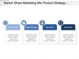 Market Share Marketing Mix Product Strategy Competitor Analysis