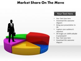 market_share_on_the_move_man_standing_on_pie_chart_powerpoint_diagram_templates_graphics_712_Slide01