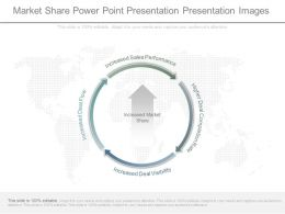 Market Share Power Point Presentation Presentation Images
