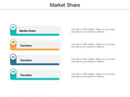 Market Share Ppt Powerpoint Presentation Icon Picture Cpb