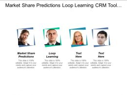 Market Share Predictions Loop Learning Crm Tool Definition Cpb
