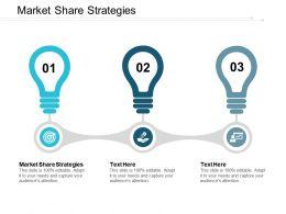Market Share Strategies Ppt Powerpoint Presentation Portfolio Layout Cpb