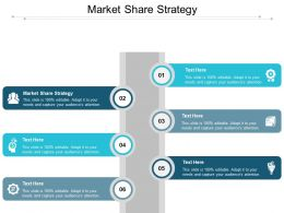 Market Share Strategy Ppt Powerpoint Presentation Infographic Template Slides Cpb