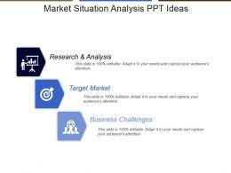 Market Situation Analysis Ppt Ideas
