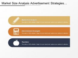 Market Size Analysis Advertisement Strategies Employee Compensation Management