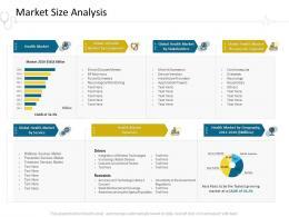 Market Size Analysis Hospital Management Ppt Model Infographic