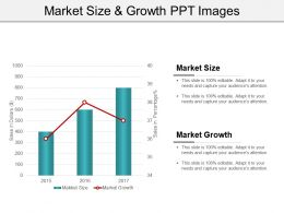 Market Size And Growth Ppt Images