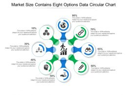 Market Size Contains Eight Options Data Circular Chart