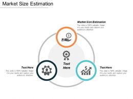Market Size Estimation Ppt Powerpoint Presentation Pictures Icons Cpb