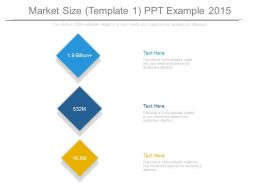 Market Size Template1 Ppt Example 2015
