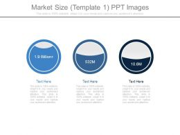 Market Size Template1 Ppt Images