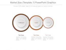 Market Size Template 1 Powerpoint Graphics
