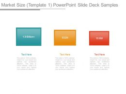 Market Size Template 1 Powerpoint Slide Deck Samples
