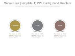 Market Size Template 1 Ppt Background Graphics