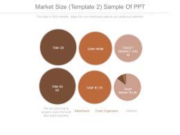 Market Size Template 2 Sample Of Ppt